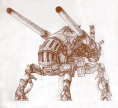 Image result for steampunk mech