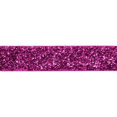 Fuchsia Glitter Ribbon - Paper Source - senior girls