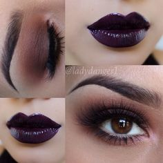 Dark Eye and Dark Lip