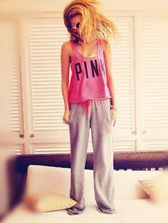 PINK Boyfriend Pant #VictoriasSecret http://www.victoriassecret.com/pink/bottoms/boyfriend-pant-pink?ProductID=103390=OLS?cm_mmc=pinterest-_-product-_-x-_-x