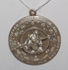 Saint Christopher GUIDE ME in all DIRECTIONS by CherishedSaints