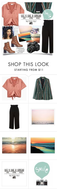 """Dream Job: Photography"" by kayronayfashion ❤ liked on Polyvore featuring Topshop, Trademark Fine Art, Seventy Tree, Mulberry, Nikon, contest, photography and thegypsetters"
