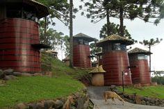 Quartos de hotel da Serra Gaúcha ficam em antigas barricas de vinho