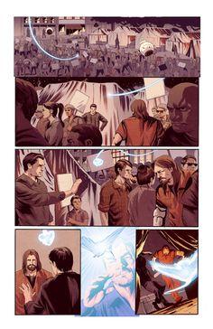 Bleedback comic book page 02 #Bleedback #comicbook #scifi