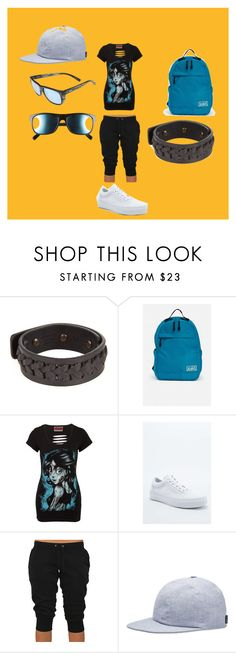 """""""sportswear.."""" by marcia-naftal on Polyvore featuring Rick Owens, Vans, NIKE, Revo, women's clothing, women, female, woman, misses and juniors"""