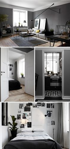 Is it easy for designers to apply minimalist living room design? Let's find out. We all know that a living room is like the heart of the house. It's located in the center of the house and it's the … Apartment Interior, Interior Design Living Room, Studio Apartment, Gray Interior, Interior Ideas, Home And Deco, Lofts, Interiores Design, Home And Living
