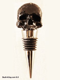 [CONTEST] Win an Urban Hardwear Skull Bottle Stopper  The answers have a lot of drink recipes.