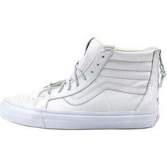 Vans Sk8 Hi Reissue Zip LX - White  150.00
