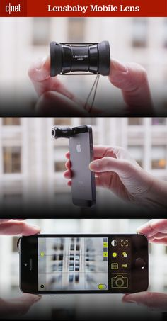 The Lensbaby mobile camera lens fits on both iPhone and Android phones and comes with some fun, unique filters. See our full review on CNET.com.