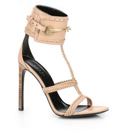 """""""Shoe du Jour"""" 11.04.14 Gucci """"Ursula"""" Horsebit Braided Sandals « Shoefessional"""