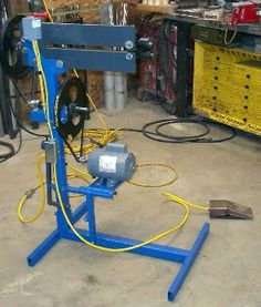 Harbor Freight Bead Roller Upgrade By Eljorger Here S My