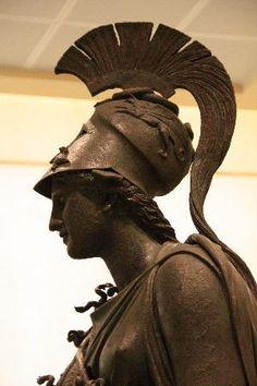 Bronze statue of Athena, Archaeological Museum of Piraeus