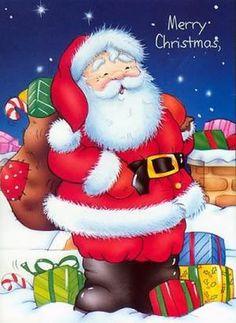 pintura em tecido natal papai noel - Pesquisa Google