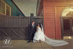 Bride & Groom | SODO Park | Seattle, WA | TAustin Photography