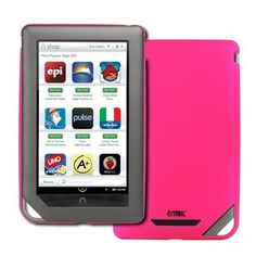 EMPIRE Barnes and Noble Nook Color Hot Pink Rubberized Stealth Hard Case Cover [EMPIRE Packaging] by Empire. $6.95. This Barnes and Noble Nook Color Hot Pink rubberized case cover provides exhandheldent protection from dust, scratches, and unwanted blemishes. The Barnes and Noble Nook Color Hot Pink rubberized case cover also allows for full functionality of your device with openings for all buttons, ports, jacks, and speakers. Provide your device with exhandheldent protection a...