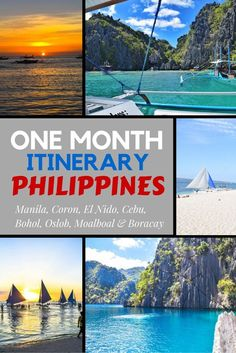 One Month In The Philippines!  All the information you'll need for an amazing trip through one of the most beautiful countries in the world!