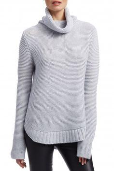 Ventis Ribbed Cashmere Turtleneck Sweater   Calypso St. Barth