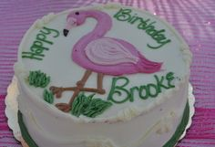 Flamingo Cake from Whole Foods!