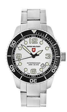 MARLIN by Swiss Military™/CX Swiss Military Watch™; professional grade Swiss Made wrist watches on the official Swiss Military™ website. The authentic Swiss Military timepieces Sport Watches, Minimalist Design, Rolex Watches, Diving, Old Things, Military, Fish, Sea, Beauty