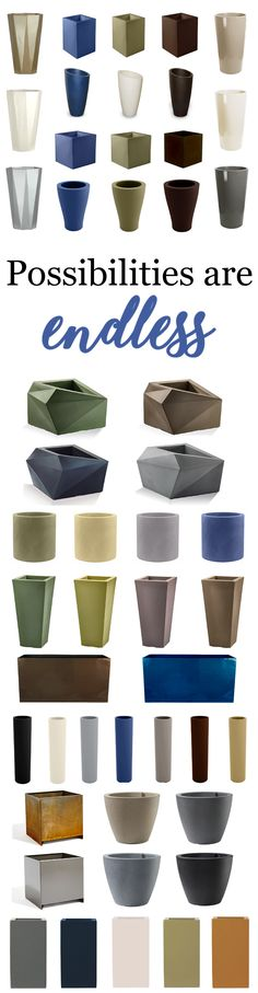 Discover endless design of modern patio planters at urbilis.com!