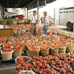 """Nashville's Farmers' Market was listed in Southern Living's """"2012 Must-See Sites in Nashville"""""""