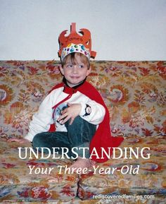 Are you living with a three year old? This might help you understand some of their behavior.