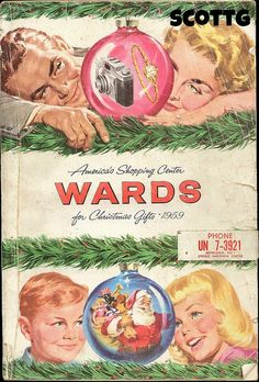 Montgomery Ward Christmas Catalog Front Cover 1959 | Flickr - Photo Sharing!