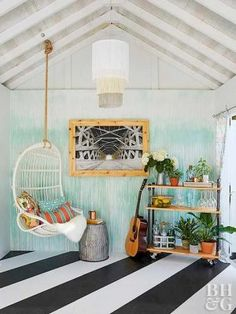 Just like men enjoy their man caves, ladies should have a she shed as a secluded space to recharge from daily demands. These she shed ideas are inspiring! shed design shed diy shed ideas shed organization shed plans Pool Shed, Backyard Sheds, Outdoor Sheds, Backyard Buildings, Backyard House, Backyard Play, Backyard Landscaping, She Shed Interior Ideas, She Shed Decorating Ideas