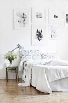 quarto decorado com tons neutros, decoração neutra para quarto casal, abranco total na decorção