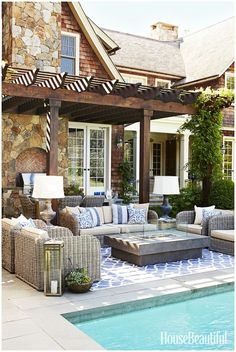 Image result for backyard inground pool