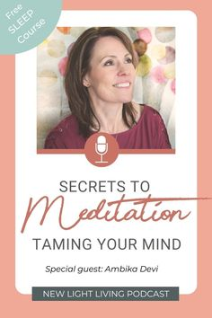 In this episode we talk about the power of meditation and how to tame the mind. Ambika Devi is a powerhouse meditation jedi and her extensive knowledge empower her to lead you to the experience of what the state of meditation really is. #newlightpodcast #meditationtips Sound Healing, Self Healing, Health And Nutrition, Health And Wellness, Wellness Tips, Power Of Meditation, Spiritual Transformation, Self Empowerment, Emotional Abuse