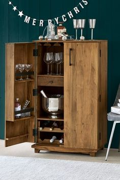 Buy Amsterdam Drinks Cabinet from the Next UK online shop Easy To Digest Foods, Drinks Cabinet, Small Liquor Cabinet, Low Fat Yogurt, Solid Wood Furniture, Diy Furniture, Evening Meals, Next Uk, Furniture Collection