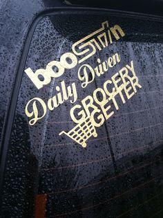 Subaru forester jdm stickers