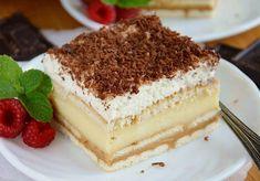 Polish Recipes, Polish Food, Food Cakes, Desert Recipes, Vanilla Cake, Tiramisu, Ale, Cake Recipes, Deserts