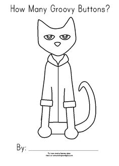 How to build an a literature pinterest literature pete cat coloring page a fun activity maxwellsz