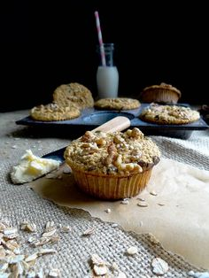 chunky monkey muffins {gf} by Sunday Morning Banana Pancakes