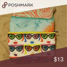3 Ipsy Makeup Bags Like new Ipsy Bags Cosmetic Bags & Cases