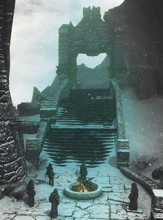 Beautiful Dovahkiin The Elder Scrolls, Elder Scrolls V Skyrim, High Fantasy, Fantasy World, Fantasy Art, Juegos Offline, Sombra Lunar, Half Elf, Tes Skyrim