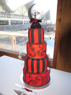 Would love this as my wedding cake!