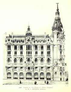 Elevation for an office building