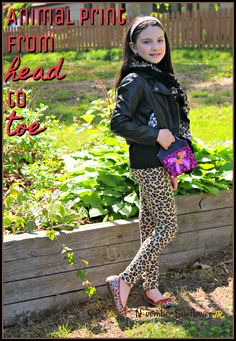 Animal print from head to toe. If you're going to go for it, then go all in! Don't be afraid to mix up patterns, and add a little color. Have fun, we're only young once!