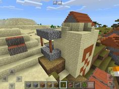 Desert Temple / Savanna Village Mess | 5 Freakishly Cool Minecraft PE Seeds With Glitched Villages