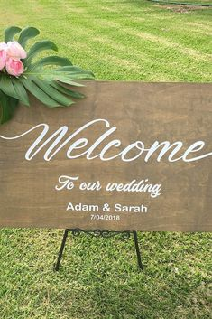 Most Popular Rustic Wedding Signs Ideas ❤ See more: http://www.weddingforward.com/rustic-wedding-signs/ #weddingforward #bride #bridal #wedding