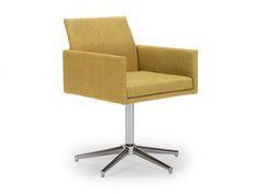 Drehsessel-Baily-Stoff-blau Retro, Chair, Design, Furniture, Home Decor, Swivel Chair, Armchairs, Blue, Recliner