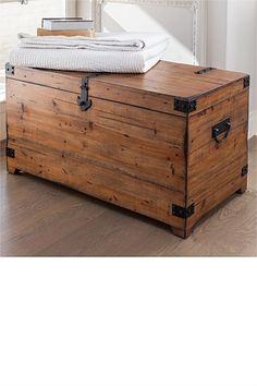 Everest Blanket Chest, Living Spaces 350. Entry bench