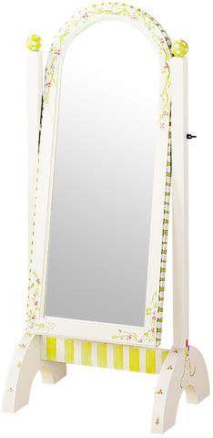 Fantasy Fields Alphabet Standing Mirror in White.afflink