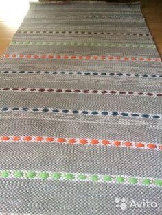Дорожка домотканая— фотография №3 Woven Rug, Stripes, Rugs, Patterns, Home Decor, Weaving, Bed Covers, Fabrics, Macrame Tutorial