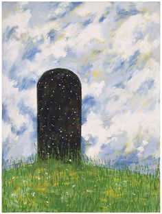The Door to the Stars (Abarat III). Oil in canvas by Clive Barker