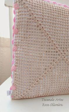 Tecendo Artes em Crochet: Almofadas