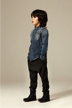 #AllSaints #denim shirt from the fall winter collection 2011/2012